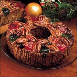 America's Finest Fruitcake (2 lb. Ring) - Wisconsin Cheeseman