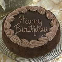 Chocolate Fudge Birthday Cake 7'