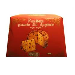 Glazed Panettone with Whole Almonds (Panettone Glassato al Mandorla) 1000 g.