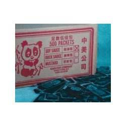Panda Soy Sauce Packets (6901KARI) Category: Kitchen Sauces