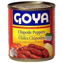 Goya Chipotle Peppers in Adobo Sauce - 7 oz