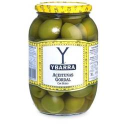 Jumbo Gordal Queen Olives with Pits by La Tienda