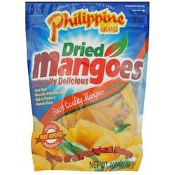 Phillipippine Brand Dried Mangoes 1 Pound 4 Ounce Value Bag