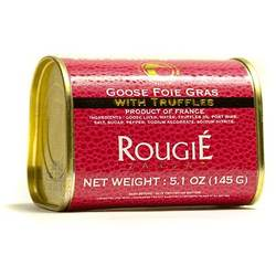 Block of Goose Foie Gras by Rougi 3% Truffles 5.1 oz