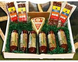 Buffalo, Elk and Venison Variety Snack Gift Box