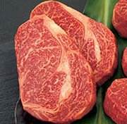 Kobe Beef Boneless Rib Eye - Two 10 oz filets