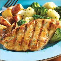 Omaha Steaks 4 (3 oz.) Oven Roasted Chicken Breasts