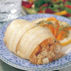 Omaha Steaks 6 (4.5 oz.) Stuffed Sole with Scallops & Crab Meat